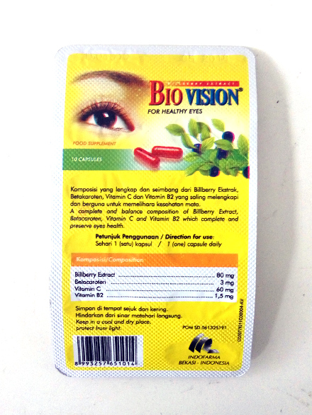 BIOVISION (1 Strip/ 10 Kapsul)