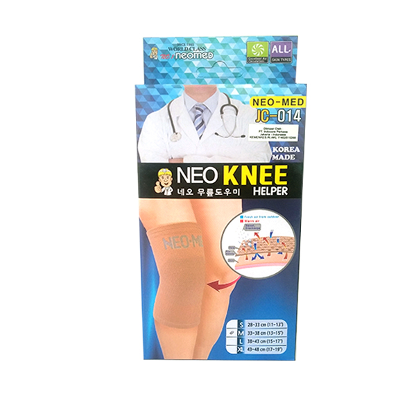 Neo JC-014 Knee Helper Medium Alat Kesehatan