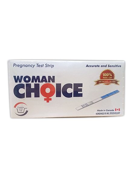 Woman Choice + Wadah Urine - Test Strip Kehamilan