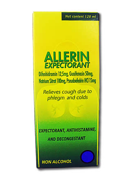 ALLERIN EXPECTORANT 120 ML