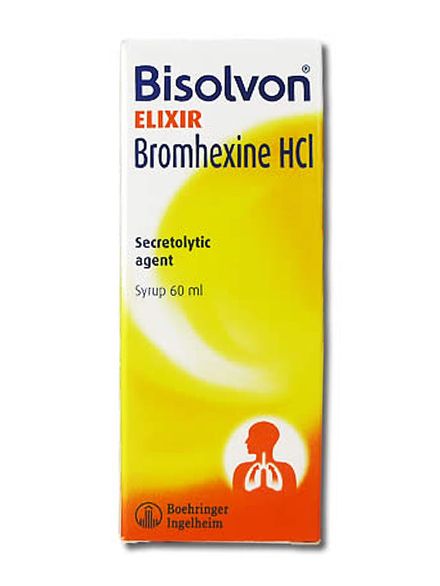 BISOLVON ELIXIR 60 ML