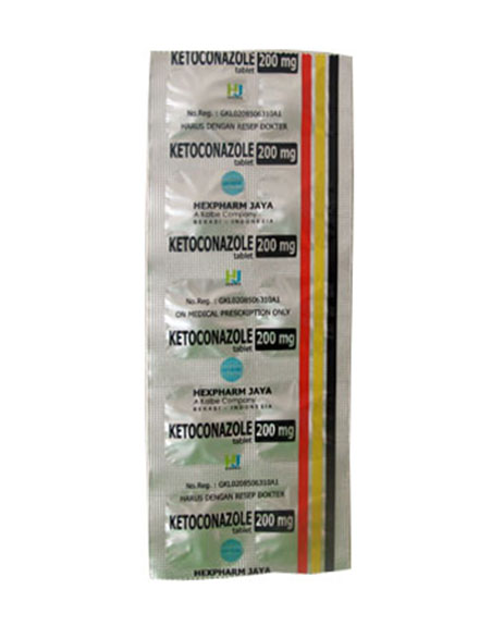 KETOCONAZOLE 200 MG TAB (1 Strip)