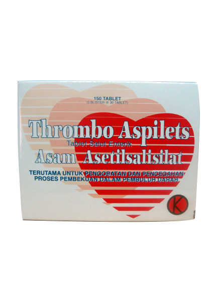 THROMBO ASPILETS TAB (1 Strip/30 Tablet)