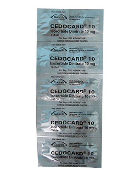 CEDOCARD 10 MG TAB (1 Strip)