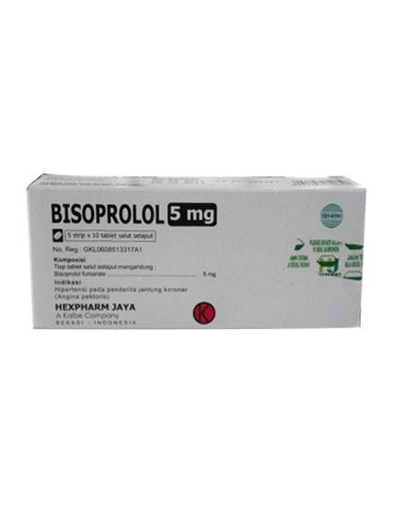 BISOPROLOL 5 MG TAB / Strip