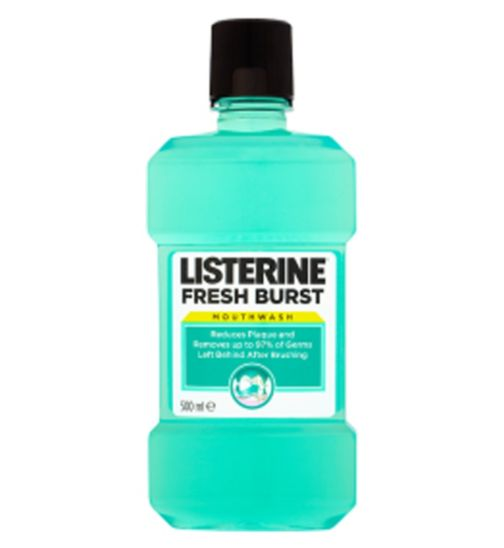 LISTERINE FRESH BURST 250 ML