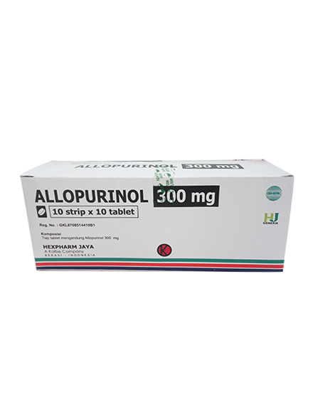 ALLOPURINOL 300 MG (1 Strip)