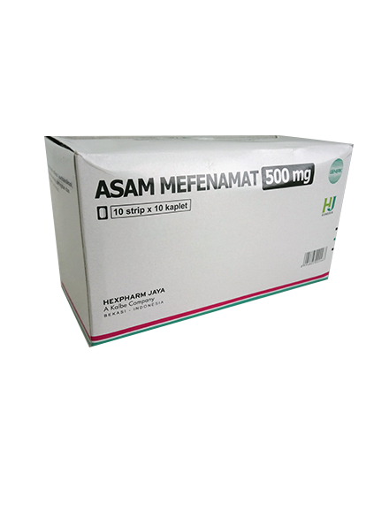 ASAM MEFENAMAT 500 MG (1 Strip)