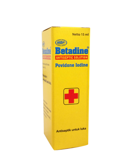 BETADINE SOLUTION 15 ML