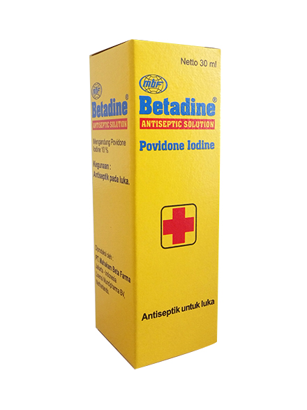 BETADINE SOLUTION 30 ML