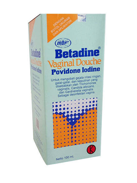 BETADINE VAGINAL DOUCHE 100 ML + APLIKATOR