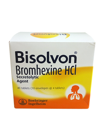 BISOLVON 8 MG (1 Strip)