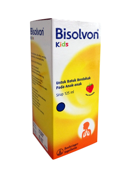 BISOLVON KIDS STRAWBERRY 125 ML