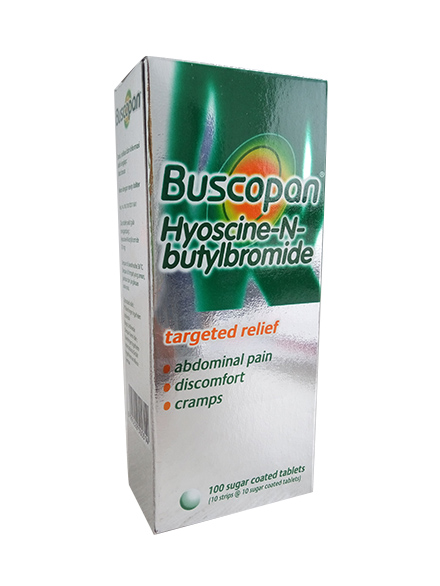 BUSCOPAN 10 MG (1 Strip)