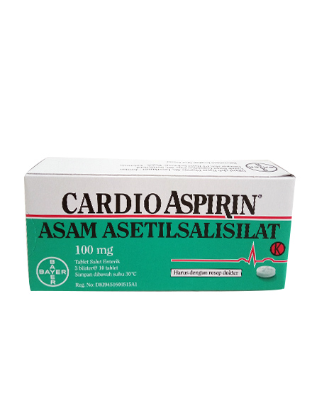 CARDIO ASPIRIN 100 MG (1 Strip)