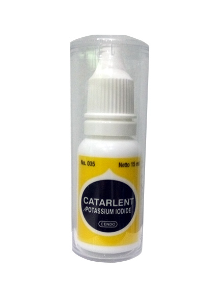 CENDO CATARLENT EYE DROPS 15 ML