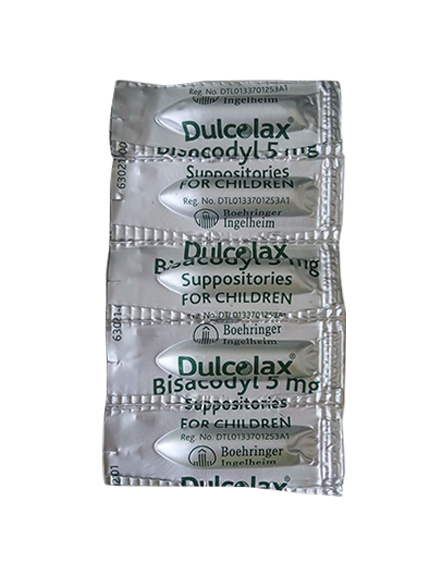 DULCOLAX SUPP FOR CHILD 5 MG/ Supp