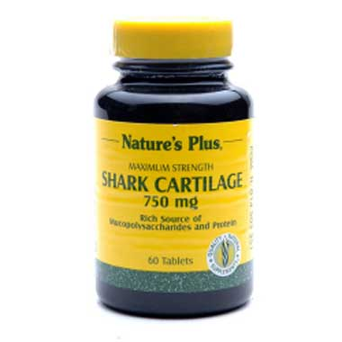 NATURE'S PLUS Shark Cartilage 750 mg (60)