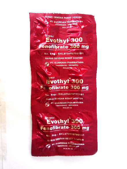 EVOTHYL 300 MG/ Tablet