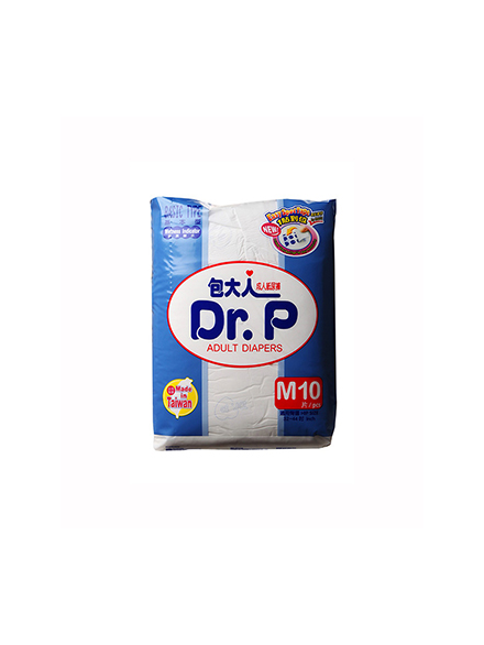 DR.P ADULT DIAPERS BASIC M 10 PC